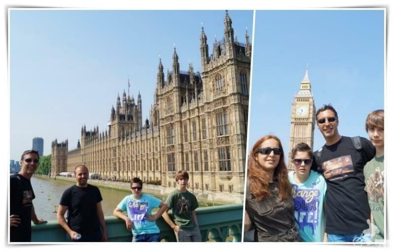 parlamento británico - Londres en un día