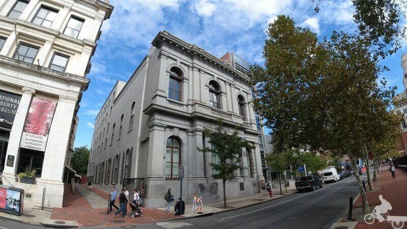 primer banco de los EEUU en Filadelfia