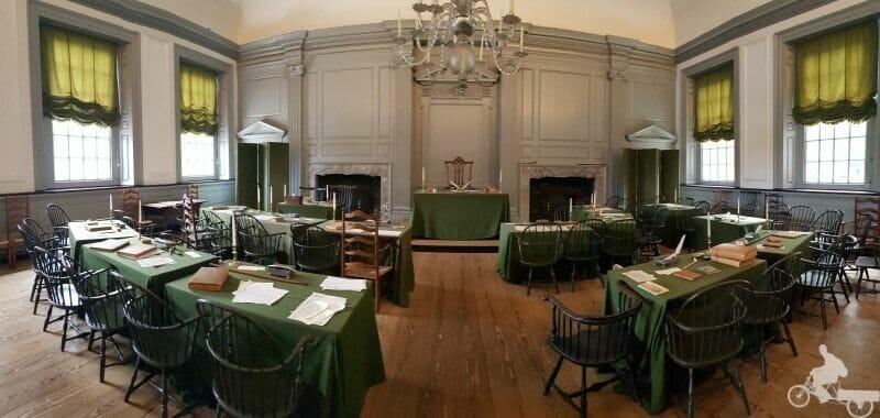 salón del Independence Hall