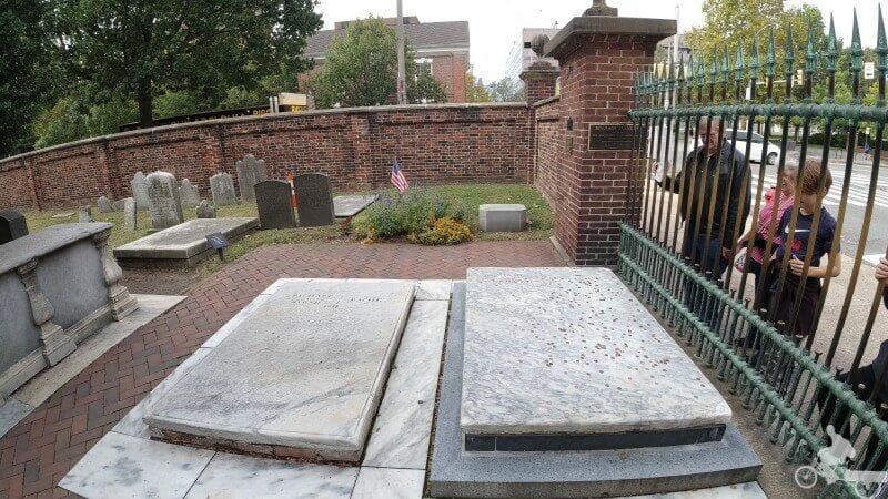 tumba benjamin franklin