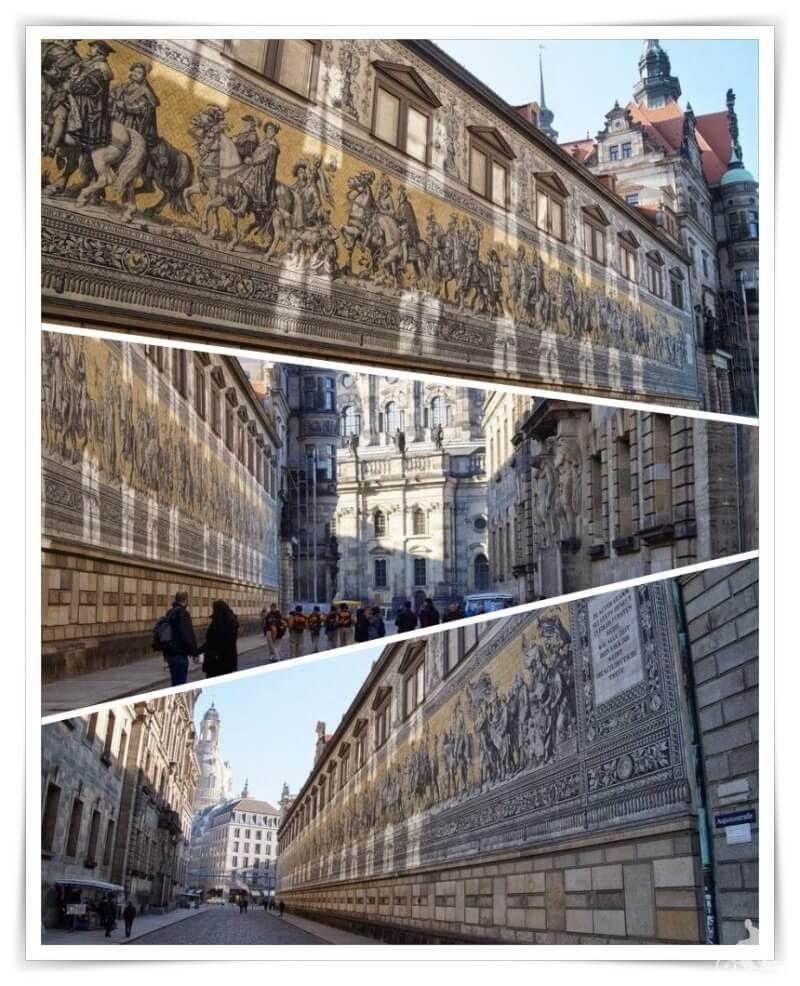 Fürstenzug- dos días en Dresde