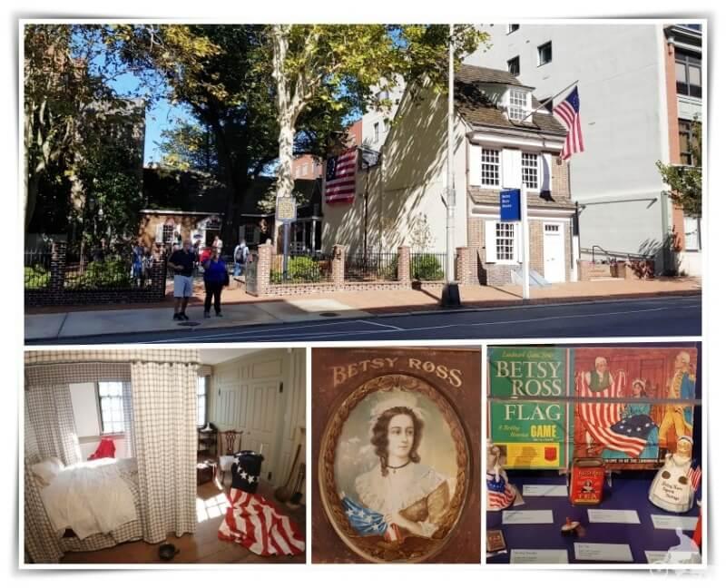 casa Betsy Ross - Filadelfia en 3 días