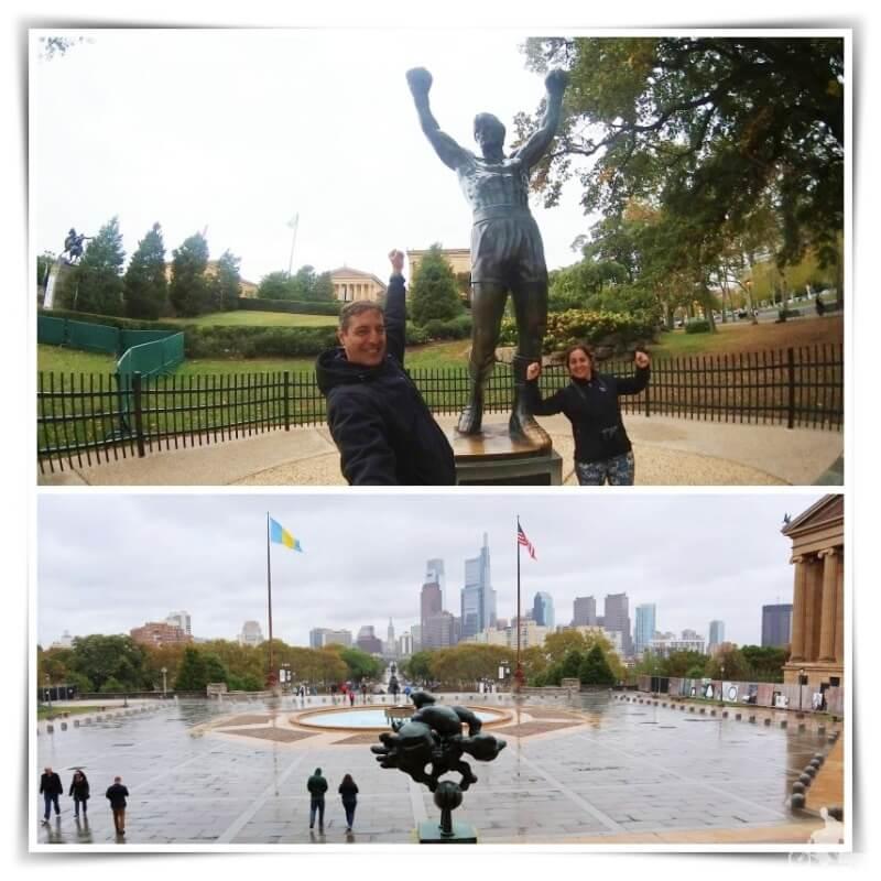 estatua Rocky balboa Filadelfia