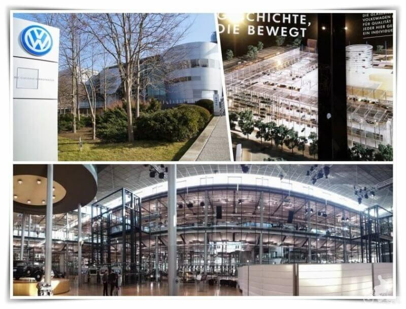 fábrica cristal de la Volkswagen - Dresde en 2 días