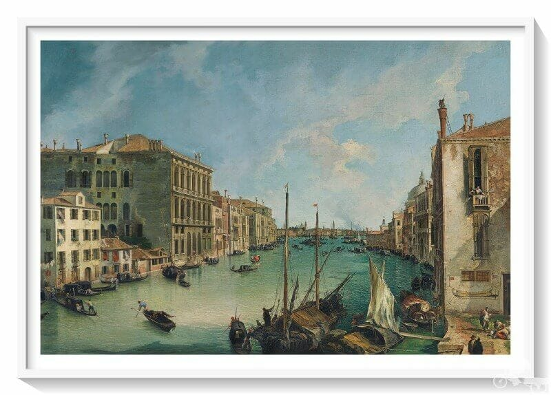 gran canal desde san vio venecia