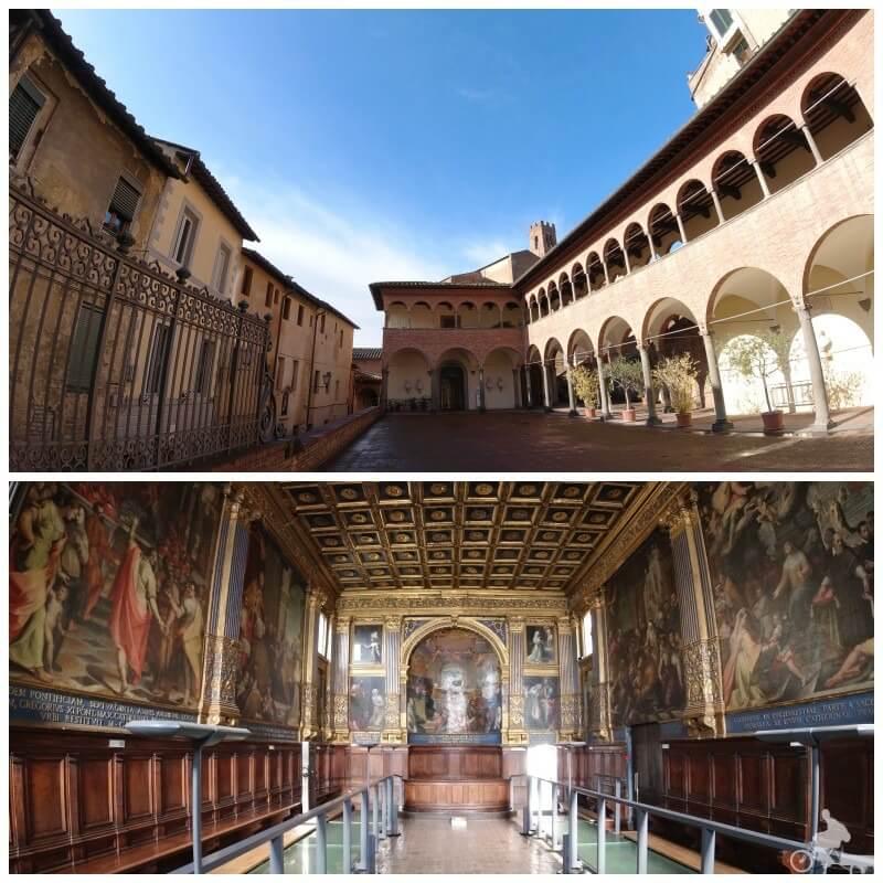 iglesia Santa Caterina - qué visitar en Siena