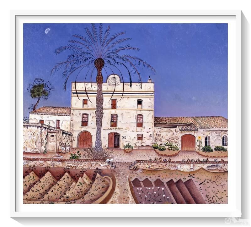 la casa de la Palmera de Joan Miró