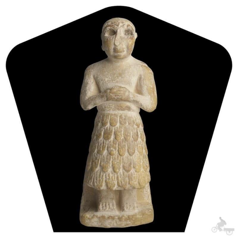 Orante de Gudea- museo Arqueológico Nacional