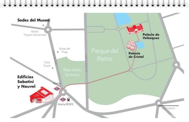 plano museo reina sofía