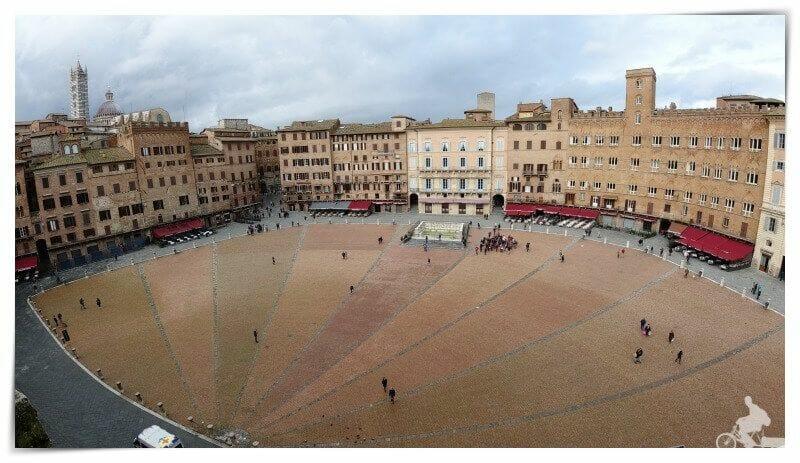 piazza del campo de Siena del Palio