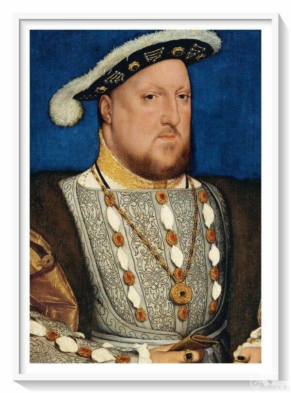 retrato de Enrique VIII de Inglaterra