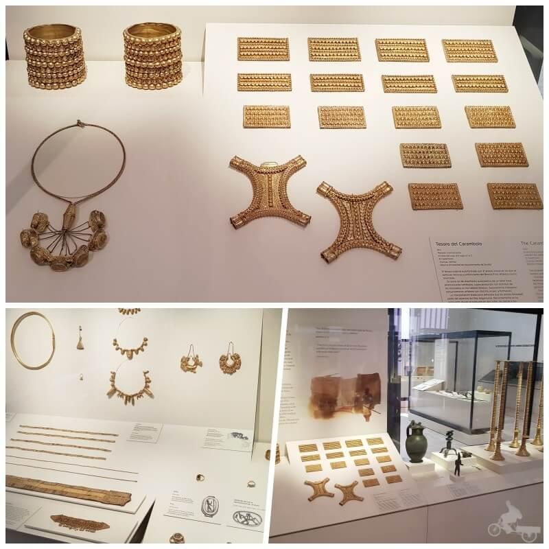 Tesoro Carambolo - mejores obras del museo Arqueológico Nacional