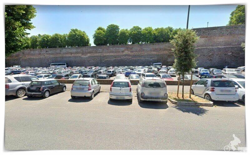 aparcar en Siena
