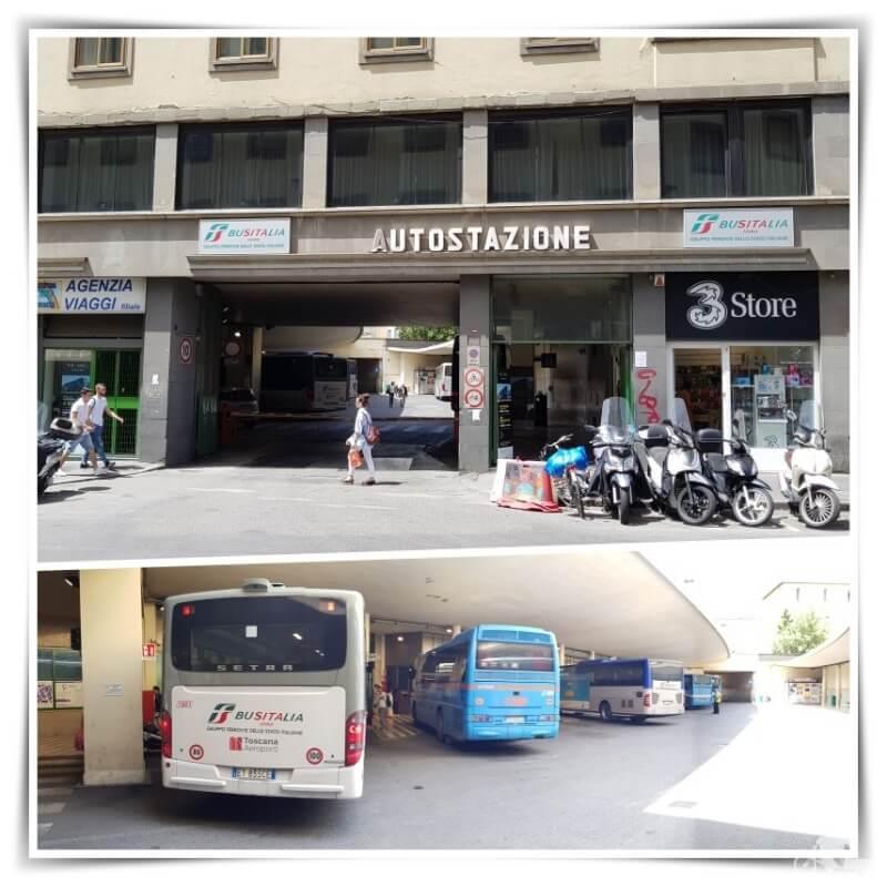 estacion de buses de Florencia