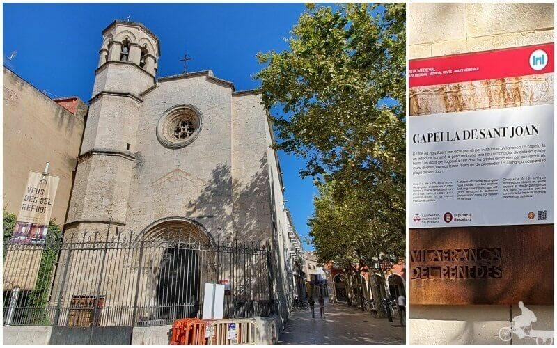 iglesia de Sant Joan - qué ver en Vilafranca del Penedès