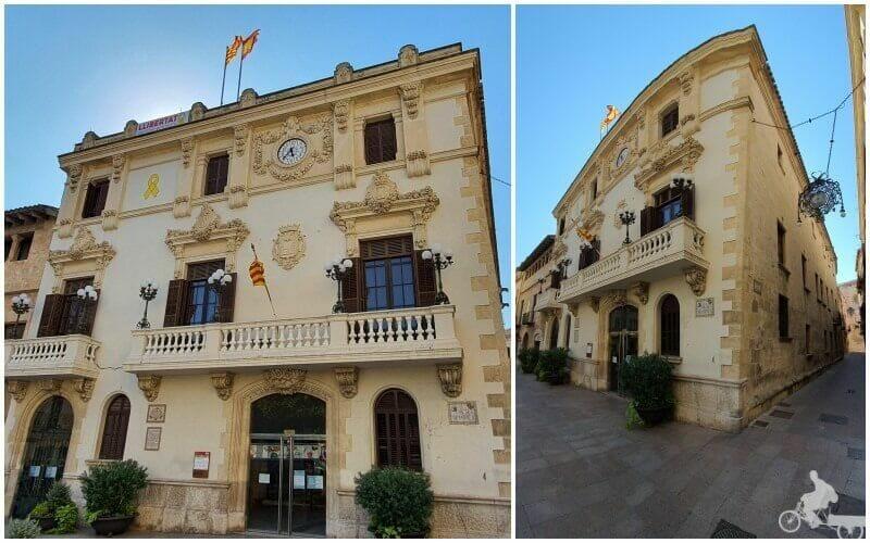 casa de la vila de Villafranca del Panades