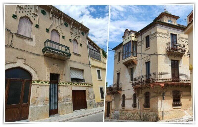 casas modernistas de Moja