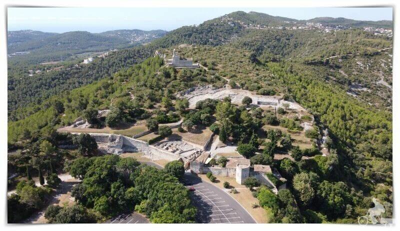 castillo de Olèrdola - qué ver en Vilafranca del Penedès