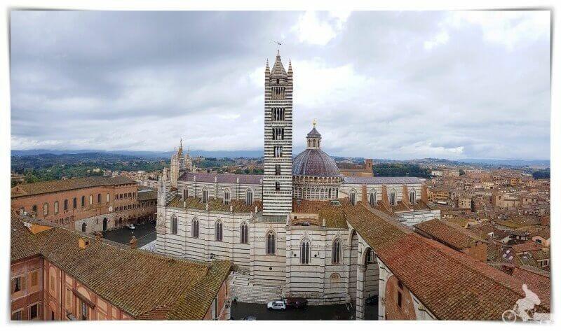 catedral de Siena desde el panorama