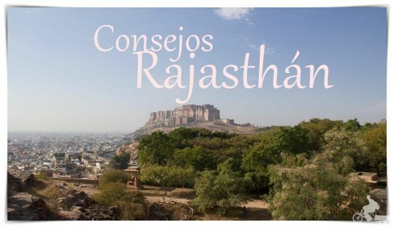 consejos para viajar al Rajasthán