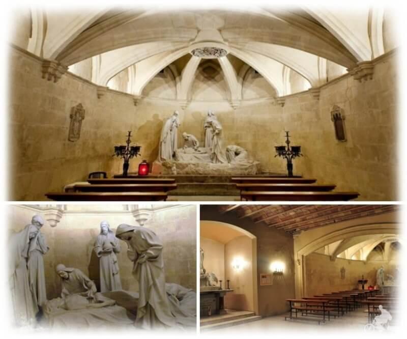 cripta basílica de Santa María