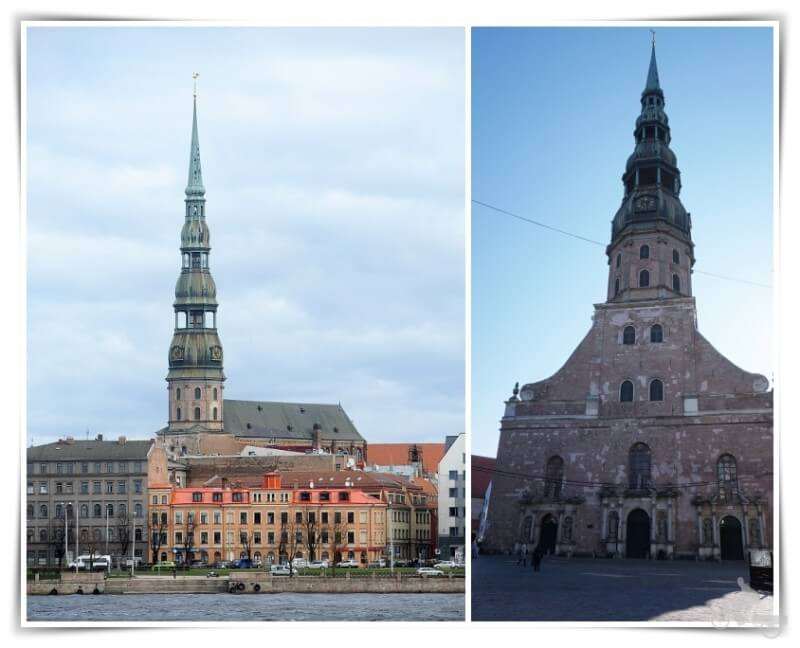 iglesia de San Pedro de Riga - Rīgas Svera Pētera baznīca