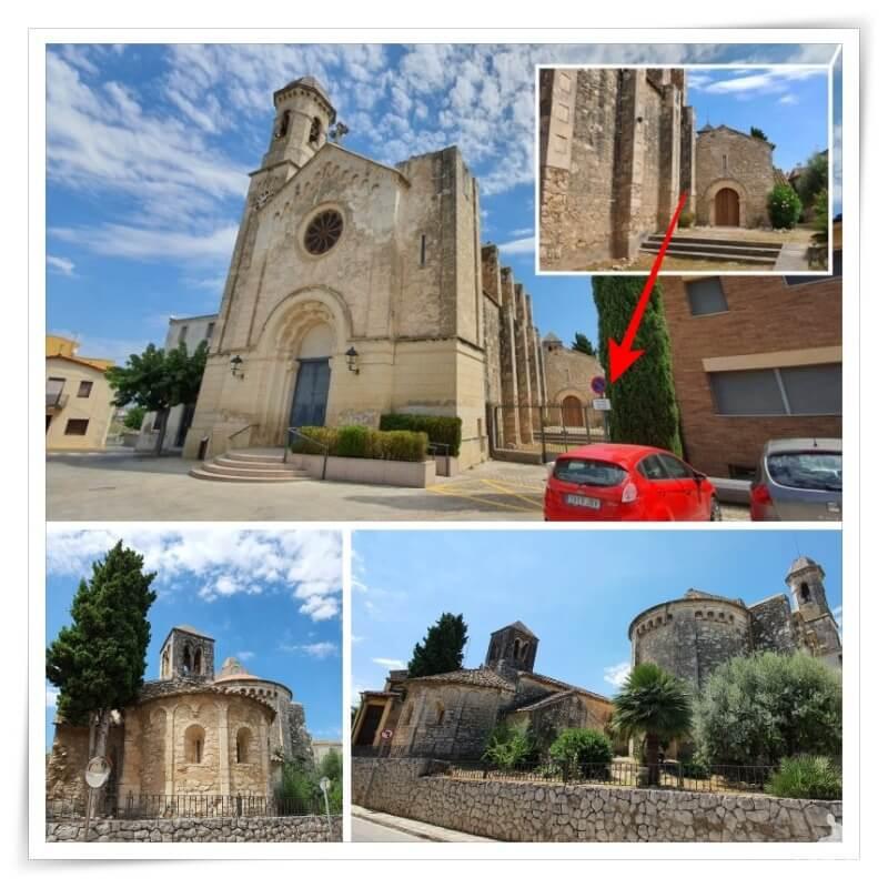 iglesia de Sant Cugat de Moja