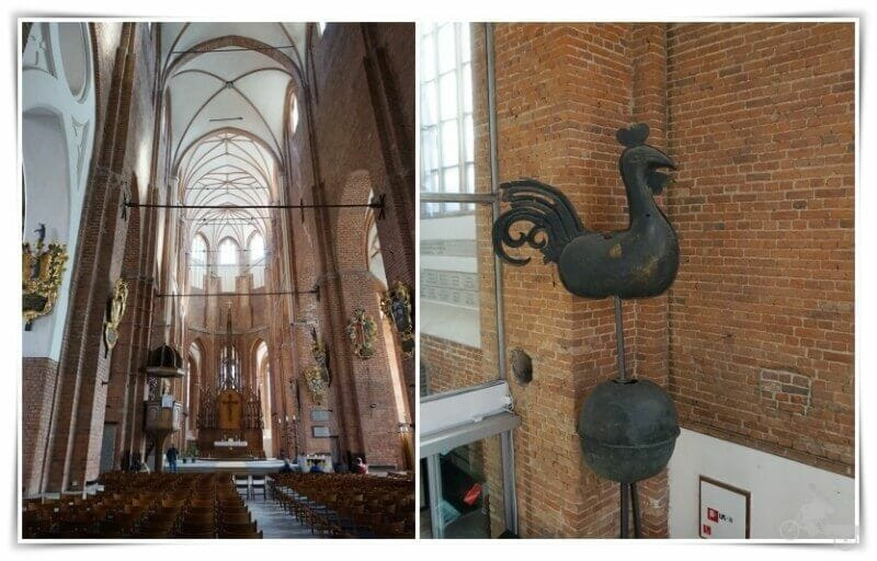 interior iglesia de San Pedro de Riga