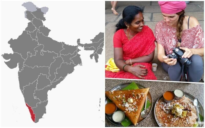 mapa Kerala