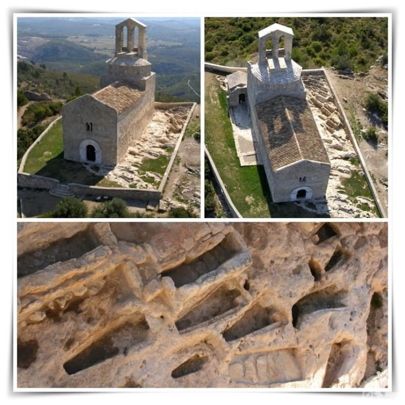 necrópolis de Sant Miquel de Olèrdola