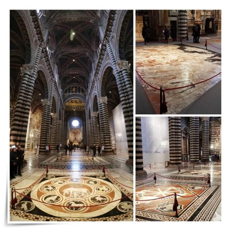 suelo mármol catedral de Siena