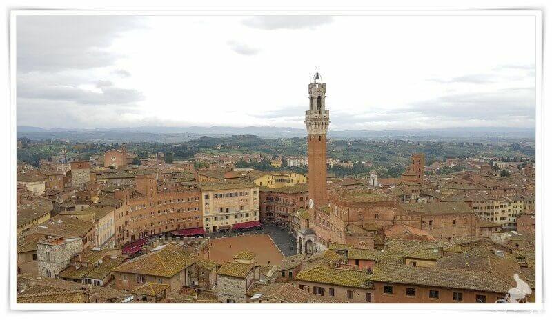 torre del Mangia desde Facciatone