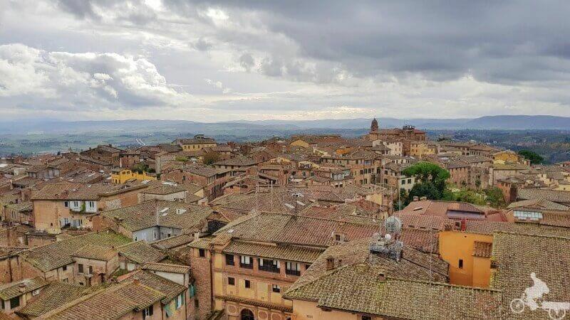 vistas desde el Facciatone