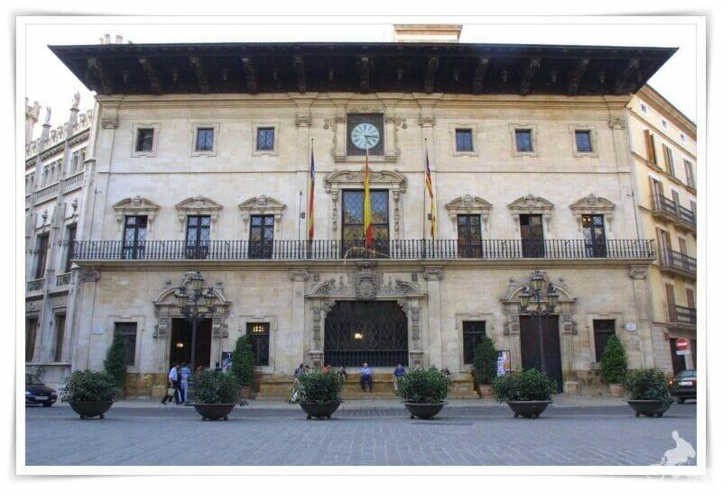 Fachada ayuntamiento de Palma de Mallorca