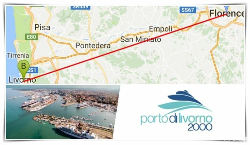 Excursión de Livorno a Pisa y Florencia
