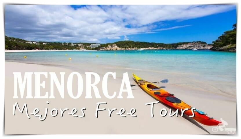 mejores free tours en Menorca