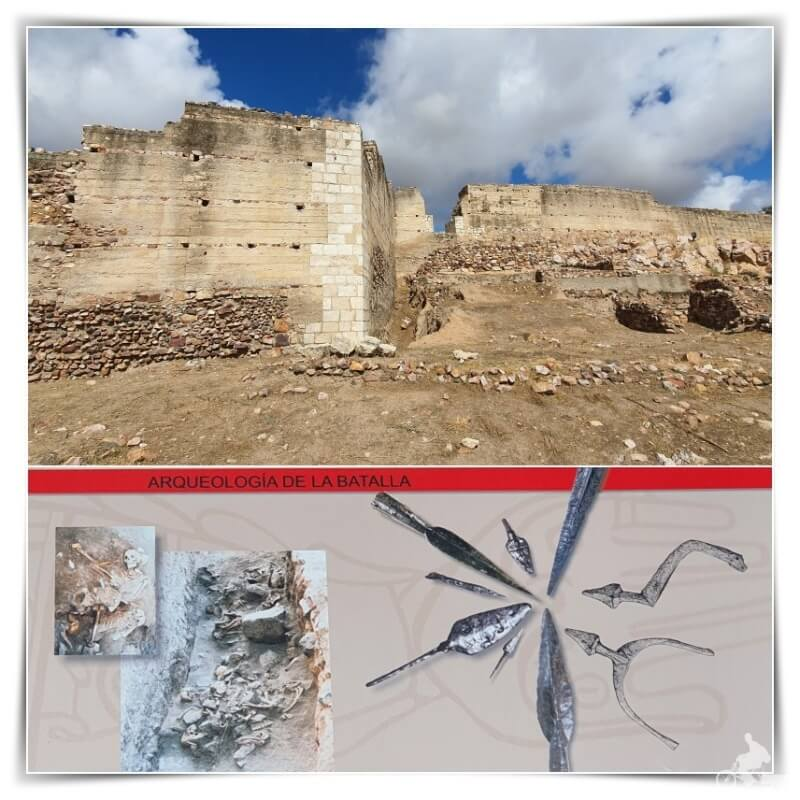 restos de la batalla de Alarcos