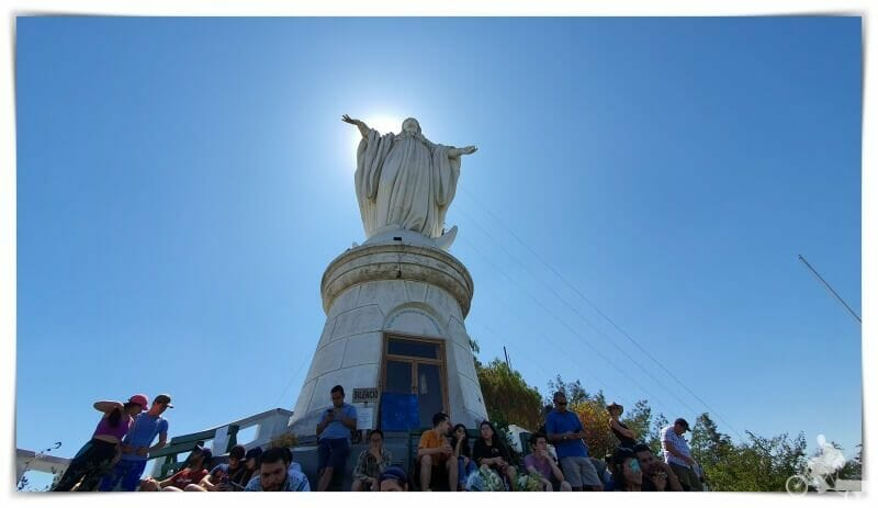 virgen cerro de San Cristóbal - qué ver en santiago de Chile en 2 días