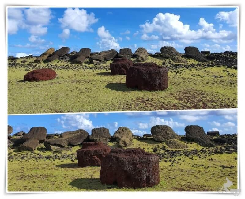 Ahu Hanga Teé (Vaihu) - norte isla de Pascua