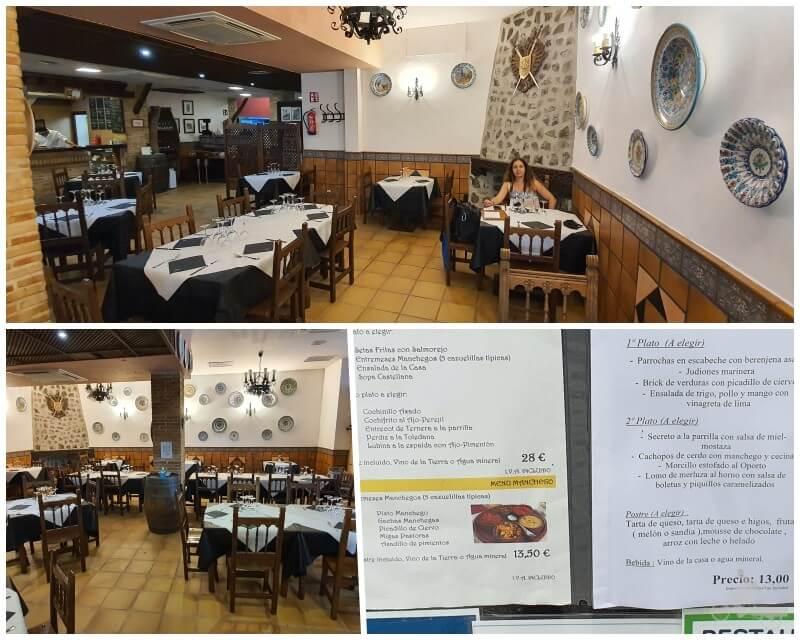 comedores del Restaurante Museo de Productos de Castilla-La Mancha