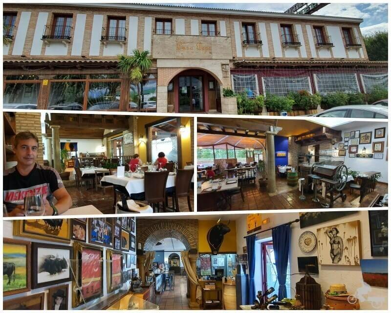 Restaurante casa Pepe Carrion de calatrava