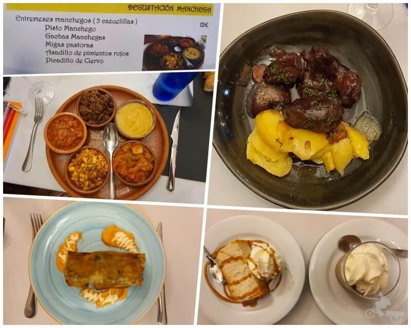 comida del Restaurante Museo de Productos de Castilla-La Mancha