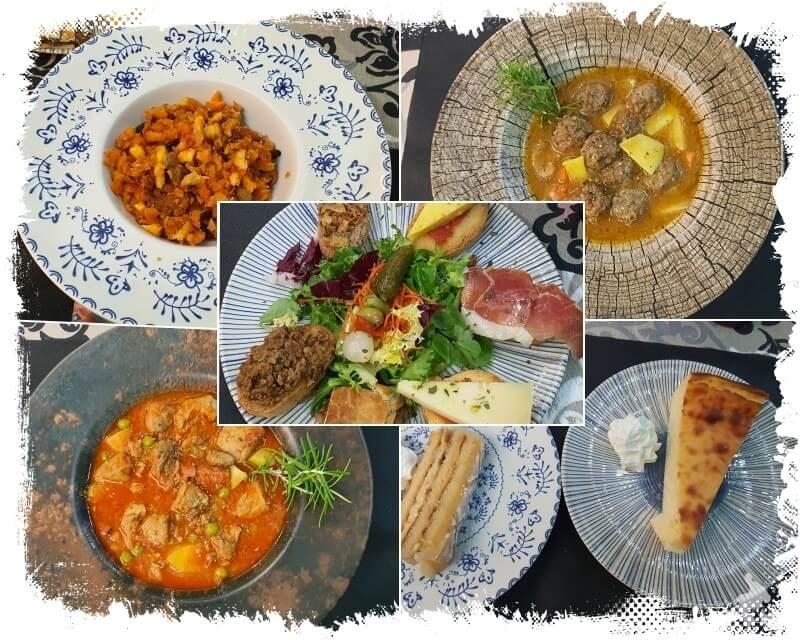 comida restaurante lo Nuestro de Toledo