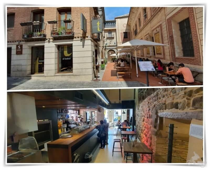 el-trebol restaurante tapas Toledo