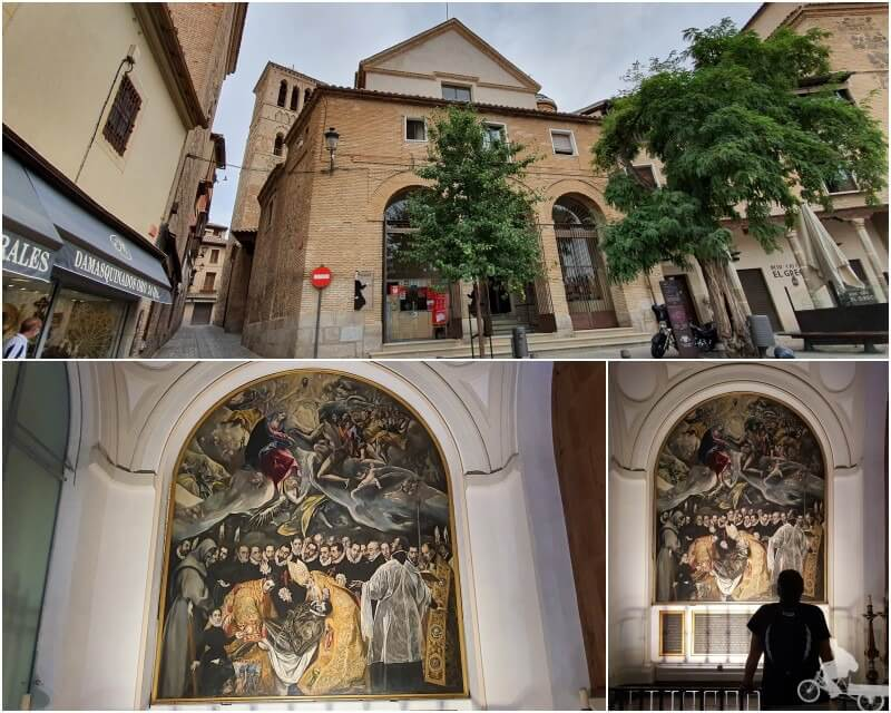 Entierro del conde de orgaz de el Greco