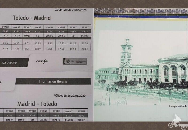 horarios de ave o avant del tren Madrid a toledo