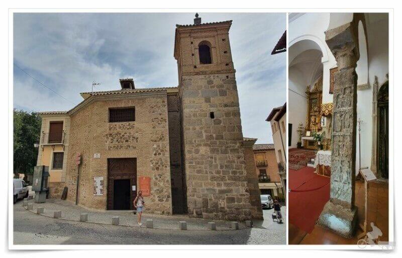 iglesia de El Salvador - pulsera turistica de Toledo ruta