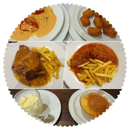 menu restaurante palacios Toledo
