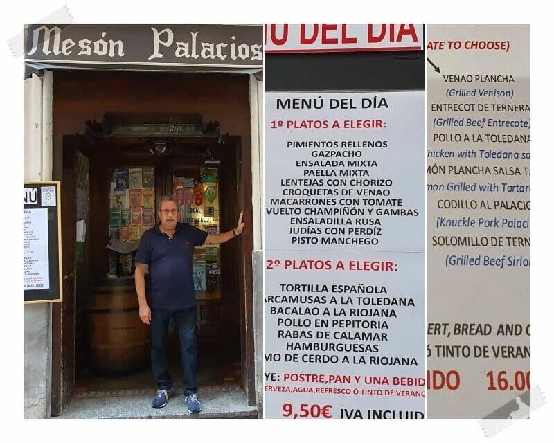 meson palacios restaurante de Toledo