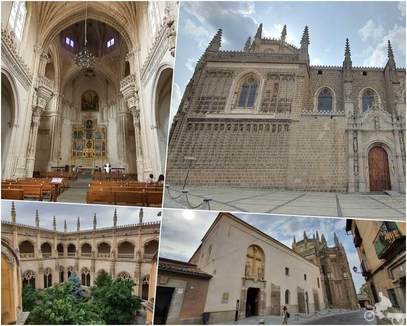 monasterio san juan de los reyes - qué visitar en Toledo